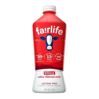 Fairlife Lactose-Free Whole Milk - 52 fl oz