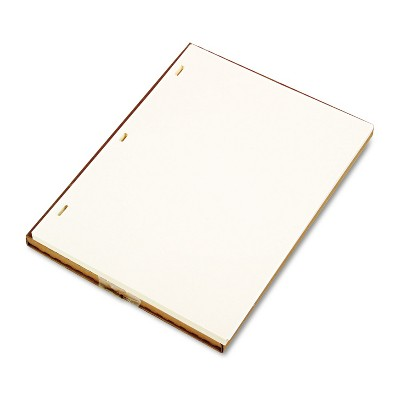 Wilson Jones Looseleaf Minute Book Ledger Sheets Ivory Linen 11 x 8-1/2 100 Sheet/Box 90110