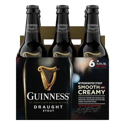Guinness Draught Beer - 6pk/11.2 fl oz Bottles