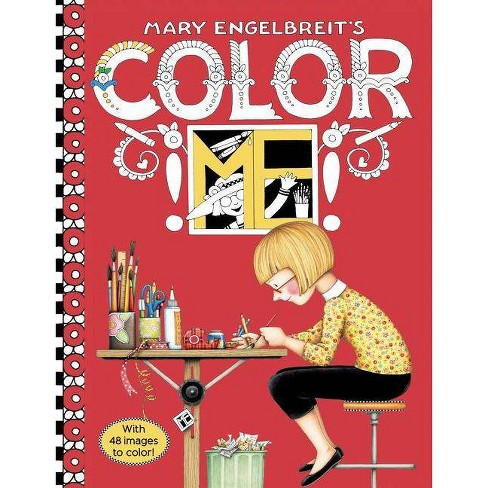 Mary Engelbreit's Color Me Coloring Book - (Paperback) - image 1 of 1