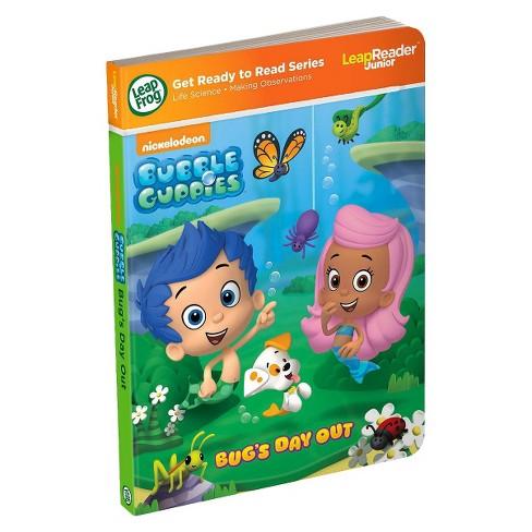 LeapFrog LeapReader Junior Book Nickelodeon Bubble Guppies Target