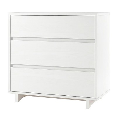Modern 3 Drawer Dresser White - Room Essentials™