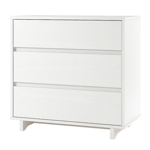 Modern 3 Drawer Dresser White Room Essentials Target