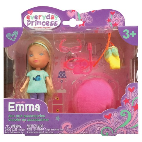 Neat-Oh! Everyday Princess Emma Doll & Bean Bag Chair - image 1 of 4