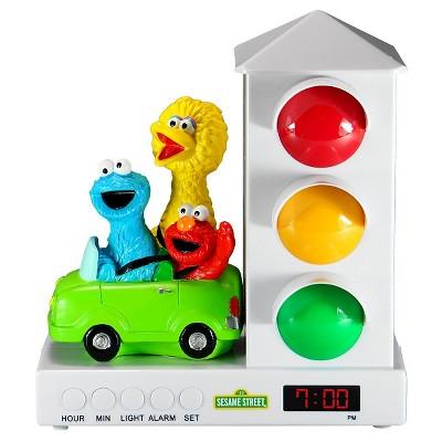 Sesame Street® Elmo and Friends in Car Stoplight Sleep Enhancing Alarm Clock