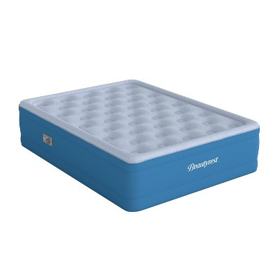 """Beautyrest Comfort Plus 17"""" Anti-Microbial Air Mattress with Pump - Full"""