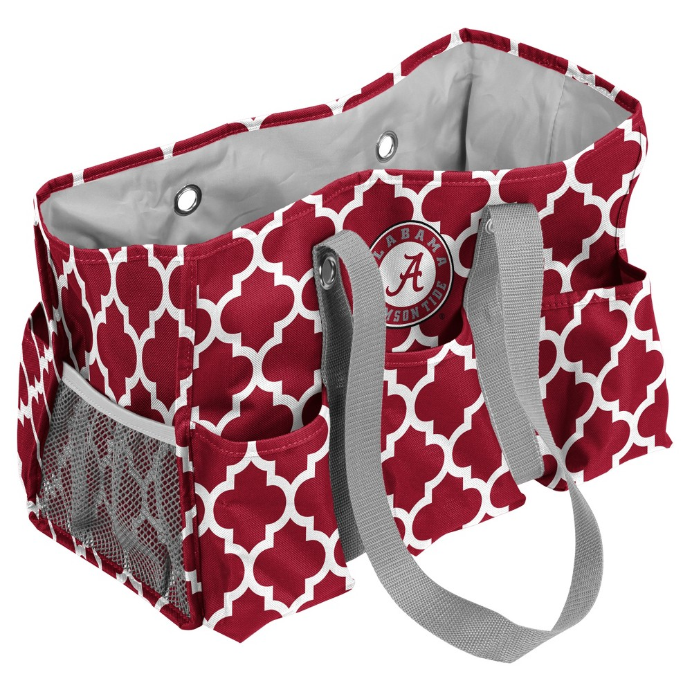 NCAA Alabama Crimson Tide Logo Brands Quatrefoil Jr. Caddy
