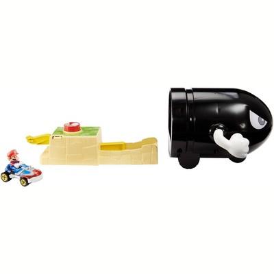 Hot Wheels Mario Kart Bullet Bill Playset