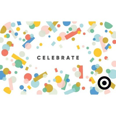 Celebrate Confetti Target GiftCard