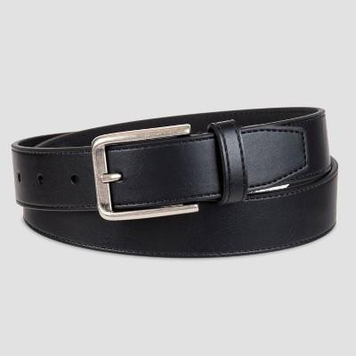 Men's 32mm Stitched Belt - Goodfellow & Co™ Black