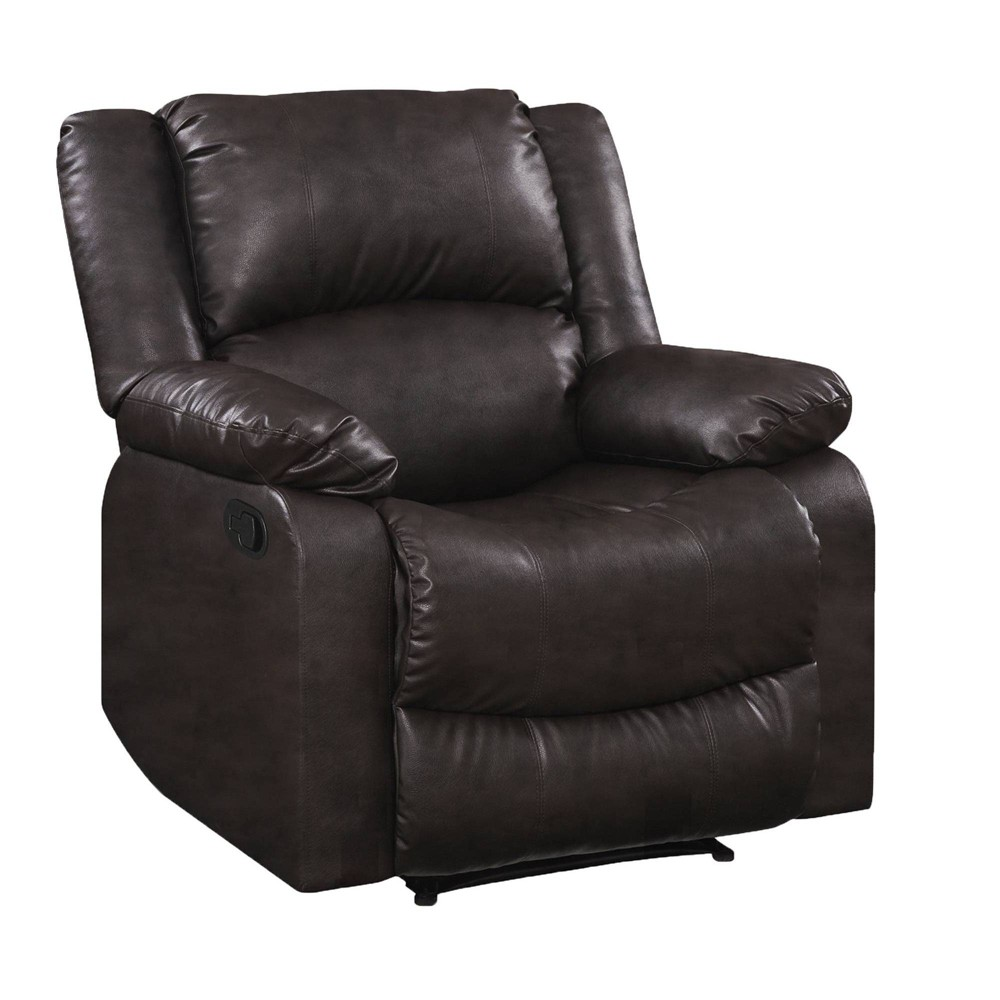 Image of Prescott Two Position Manual Recliner Chair Java - Relax A Lounger