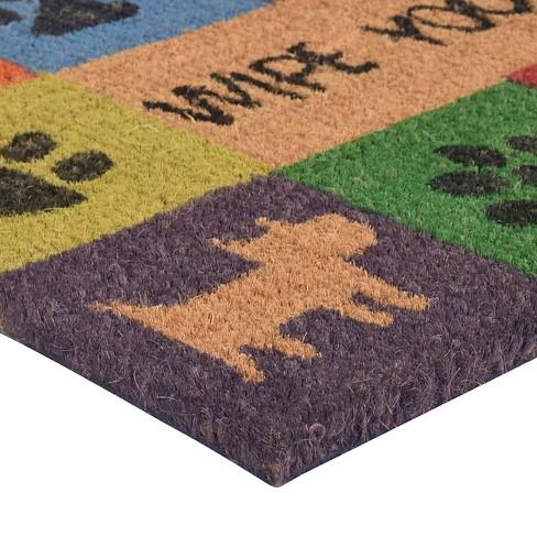 Hometrax Wipe Your Paws Doormat 18 X 30 Target