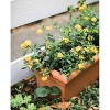 "26"" x 11"" Veranda Rectangular Window Deck Box Planter - Bloem - image 3 of 4"