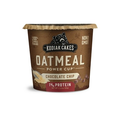 Kodiak Cakes Chocolate Chip Oatmeal in a Cup - 2.25oz