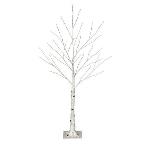 promo code 74371 94da8 Philips 4ft Pre-lit Artificial Slim Birch Twig Christmas Tree Warm White  LED Dewdrop Lights