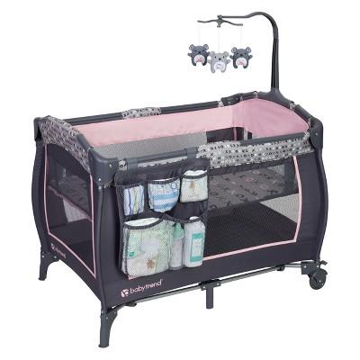 Baby Trend Trend-E Nursery Center Playard - Starlight Pink
