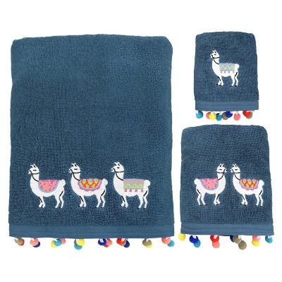 3pc Llamas Bath Towel Sets - Allure Home Creation