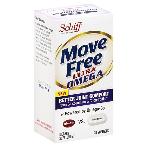Move Free Ultra Omega Softgels - 30ct - image 1 of 3