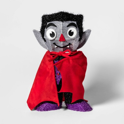 Incandescent Moving Tinsel Vampire Halloween Silhouette Light - Hyde & EEK! Boutique™ - image 1 of 2