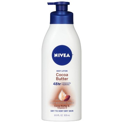 Body Lotions: Nivea Cocoa Butter Body Lotion