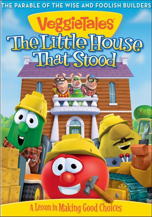 Veggie Tales: The Little House That Stood - A Lesson in Making Good Choices (dvd_video) - image 1 of 1
