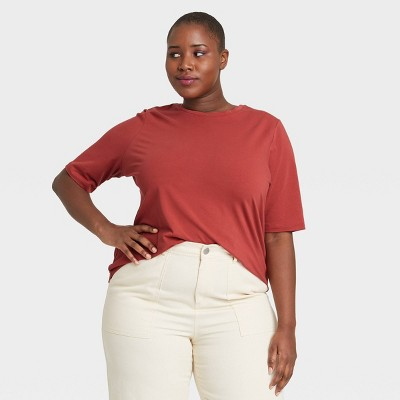 Women's  Elbow Sleeve T-Shirt - Who What Wear™