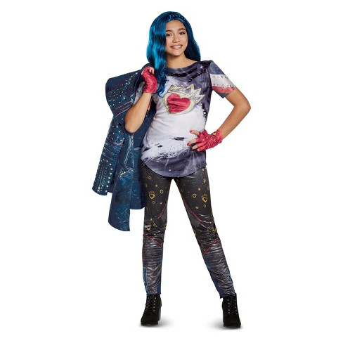 girls disney descendants evie deluxe halloween costume target