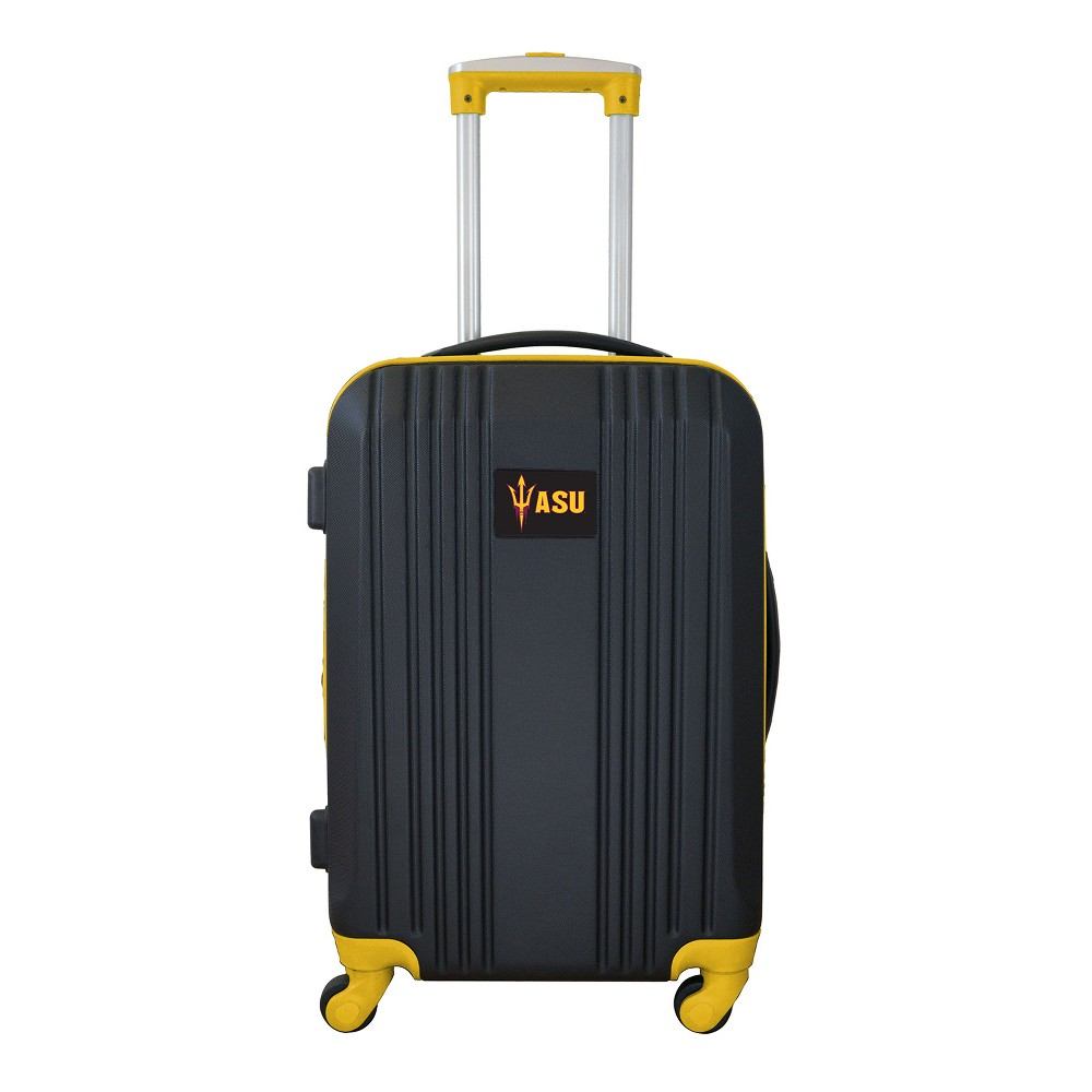 NCAA Arizona State Sun Devils 21 Hardcase Two-Tone Spinner Carry On Suitcase