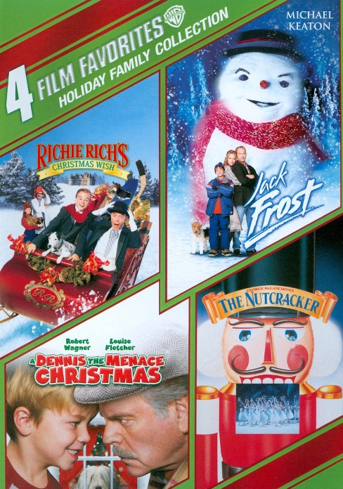 Holiday Family Collection: 4 Film Favorites [4 Discs] - image 1 of 1