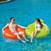 """Pool Central 48"""" Inflatable 1-Person Water Sofa Swimming Pool Inner Tube Lounger Float - Neon Yellow - image 2 of 2"""