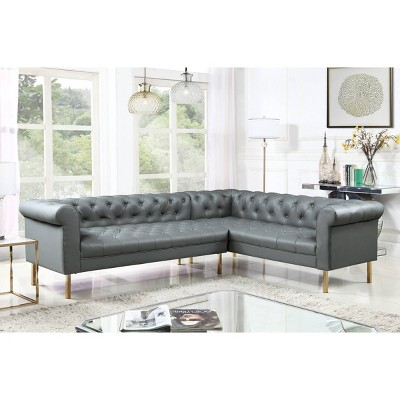 Julian Right Facing Sectional Sofa - Chic Home Design