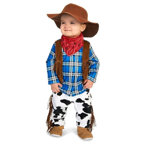 Infant Kids' Rodeo Cowboy Costume - image 1 of 1