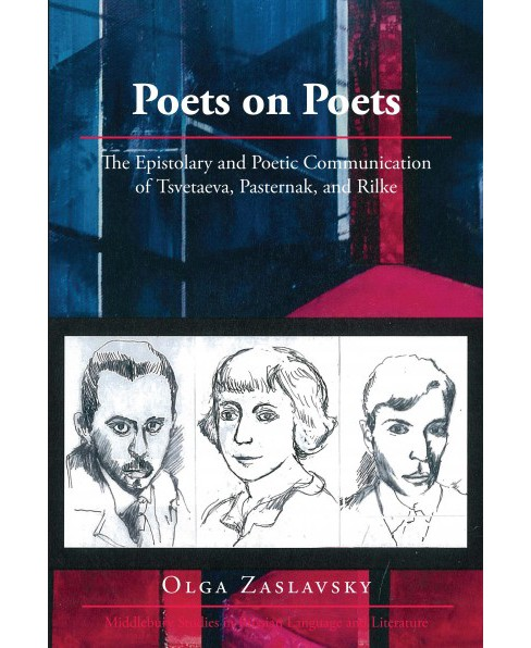 Poets on Poets : The Epistolary and Poetic Communication of Tsvetaeva, Pasternak, and Rilke (Bilingual) - image 1 of 1
