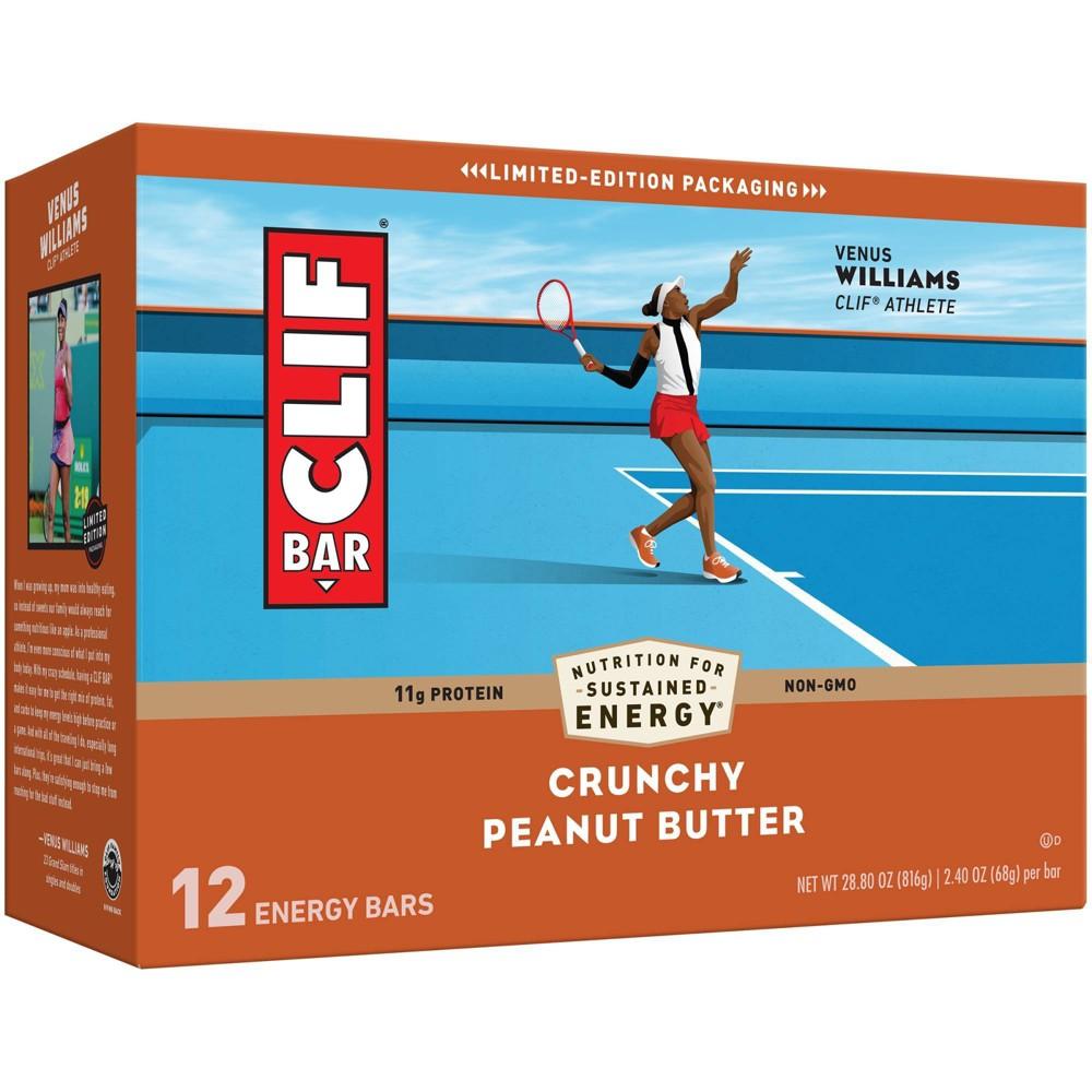Clif Bar Crunchy Peanut Butter Energy Bars 12ct