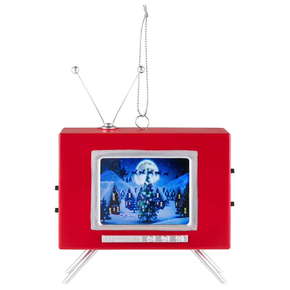 Image of LCD Vintage TV Ornament - Mr. Christmas