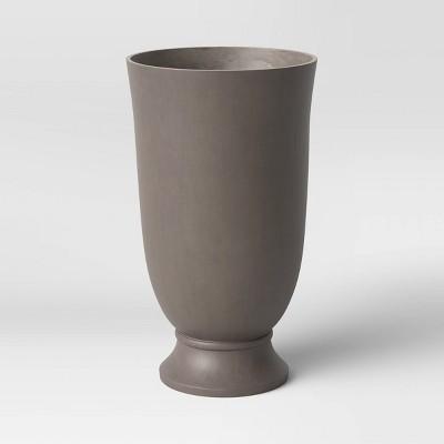 "28"" Estate Resin Urn Planter Tan - Threshold™"