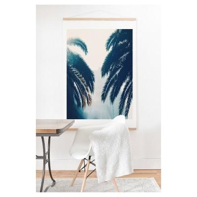 Chelsea Victoria California Blue Art Print and Hanger 20  x 20  - Deny Designs