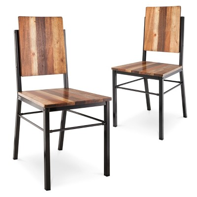 Hernwood Dining Chair Brown (Set of 2)- Threshold™