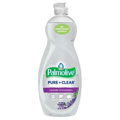 Palmolive Ultra Pure + Clear Liquid Dish Soap - Lavender and Eucalyptus - 32.5 fl oz
