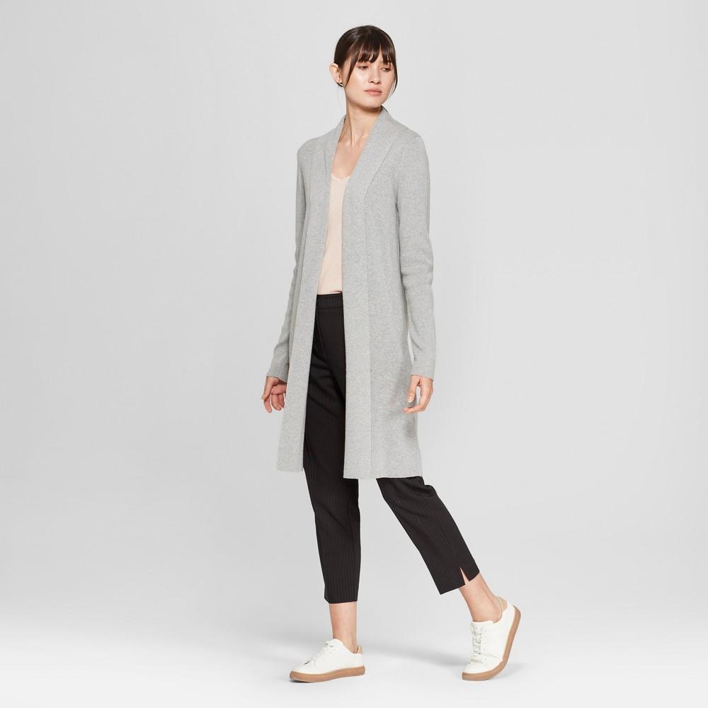 Women's Long Sleeve Cardigan - Prologue Gray S