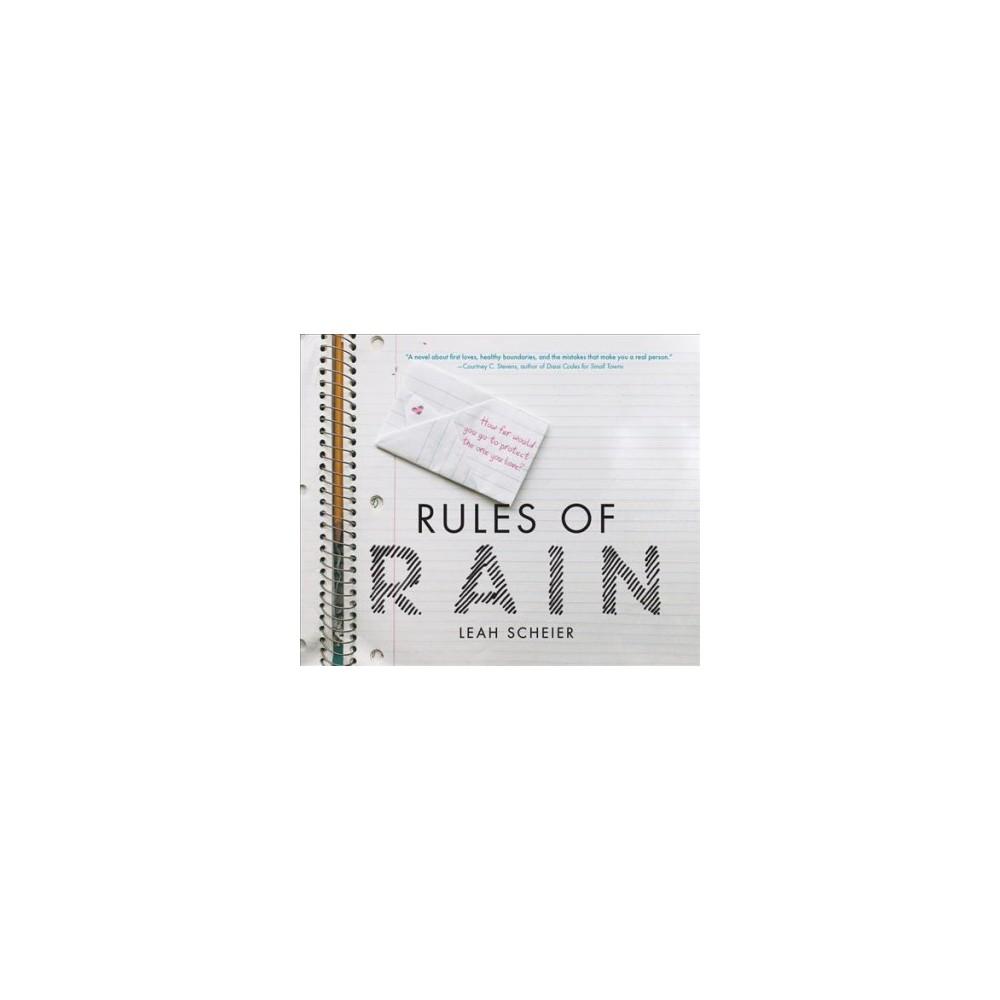 Rules of Rain - by Leah Scheier (MP3-CD)