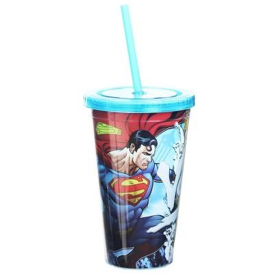 Nerd Block Superman vs Lex Luthor 16oz Carnival Cup