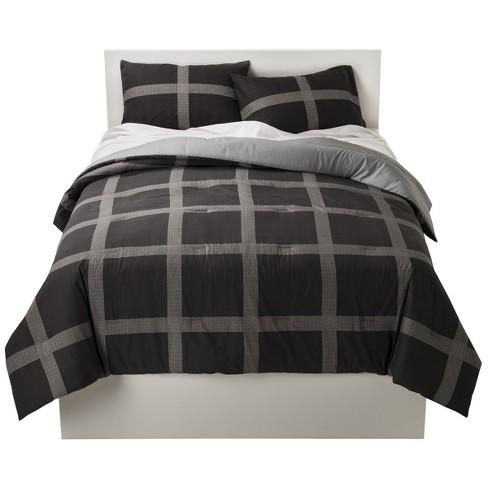Room Essentials Plaid Comforter Set
