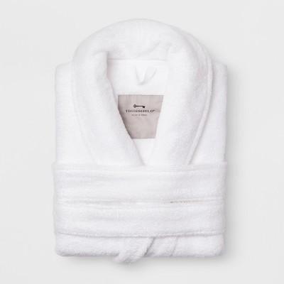 S/M Terry Spa Robe True White - Threshold™