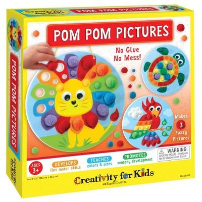 Pom Pom Pictures Craft Kit - Creativity for Kids