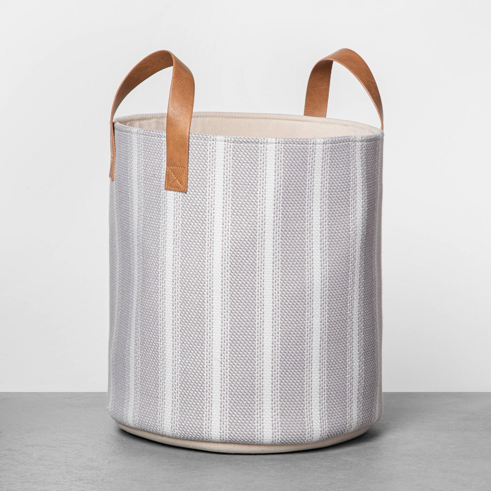"Image of ""13"""" Small Stripe Storage Bin - Hearth & Hand with Magnolia"""