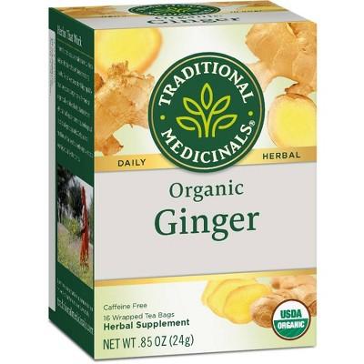 Tea Bags: Traditional Medicinals Ginger Tea Bags
