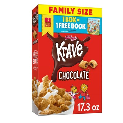 Krave Breakfast Cereal - 17.3oz - Kellogg's