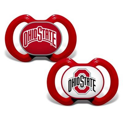 NCAA Ohio State Buckeyes 2pk Pacifier