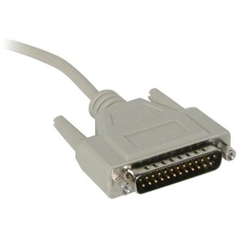 C2G 1ft DB9 Female to DB25 Male Serial Adapter Cable - DB-9 Female - DB-25 Male - 1ft - Beige - image 1 of 4